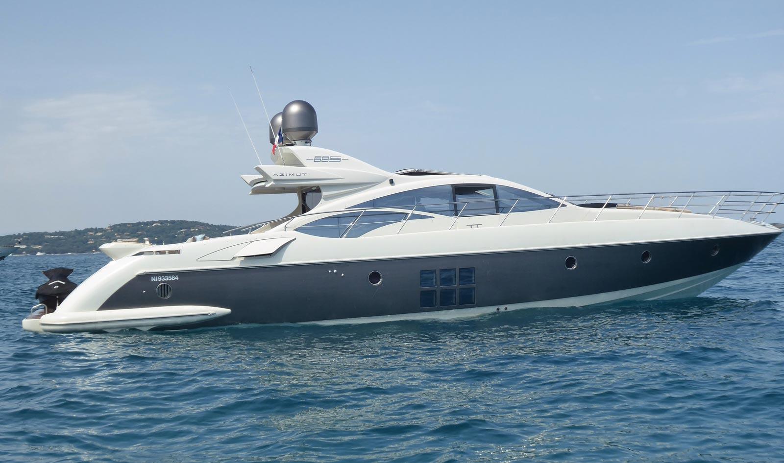 location Yacht AZIMUT 68 S - YACHTI - 21.60m
