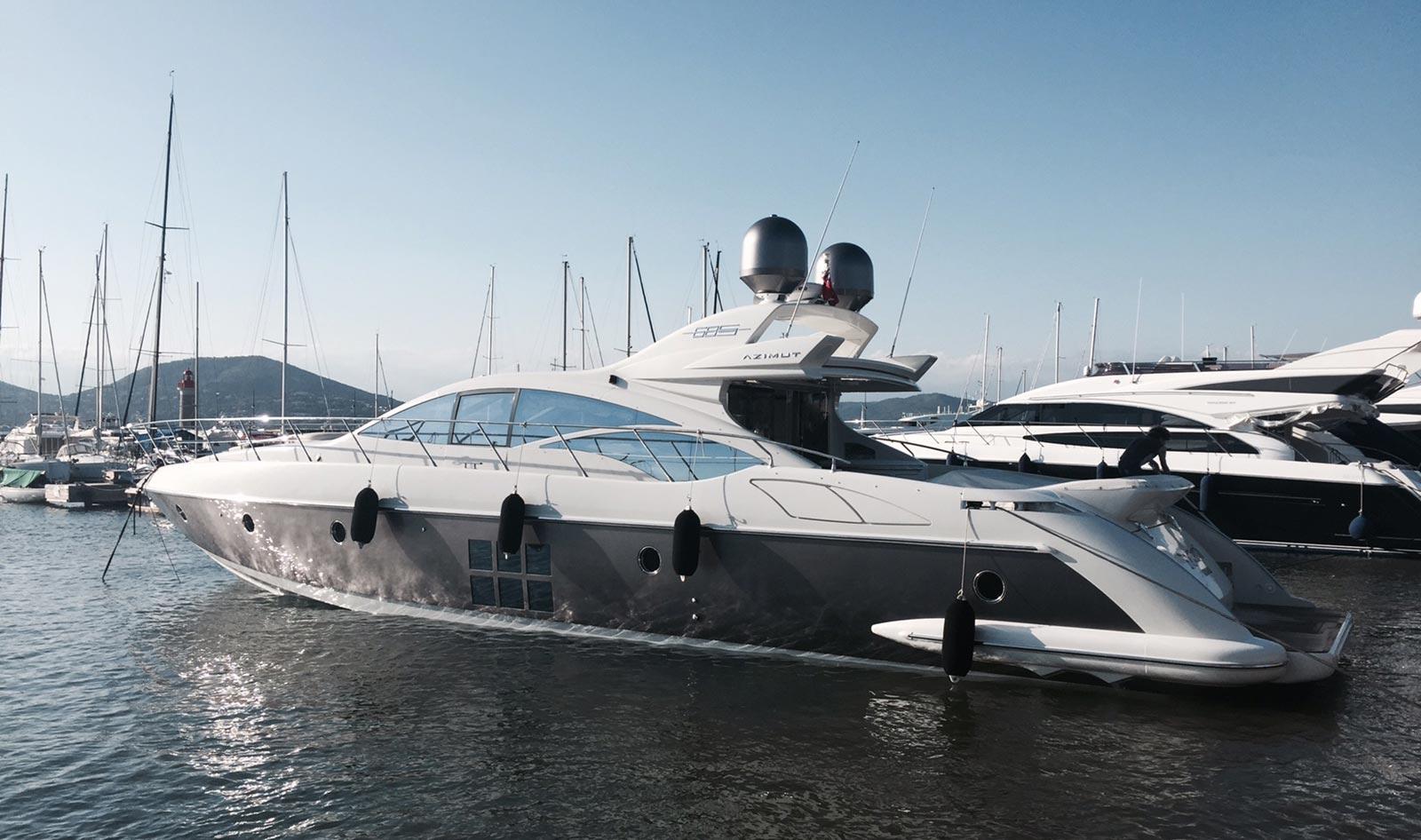 location yacht port de saint tropez